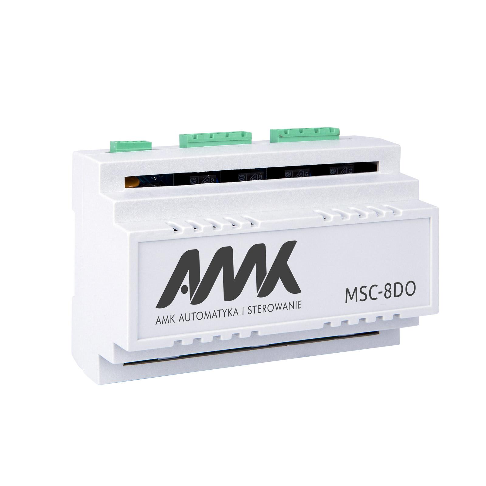 AMK Moduł wyść przekaźnikowych MSC-8DO