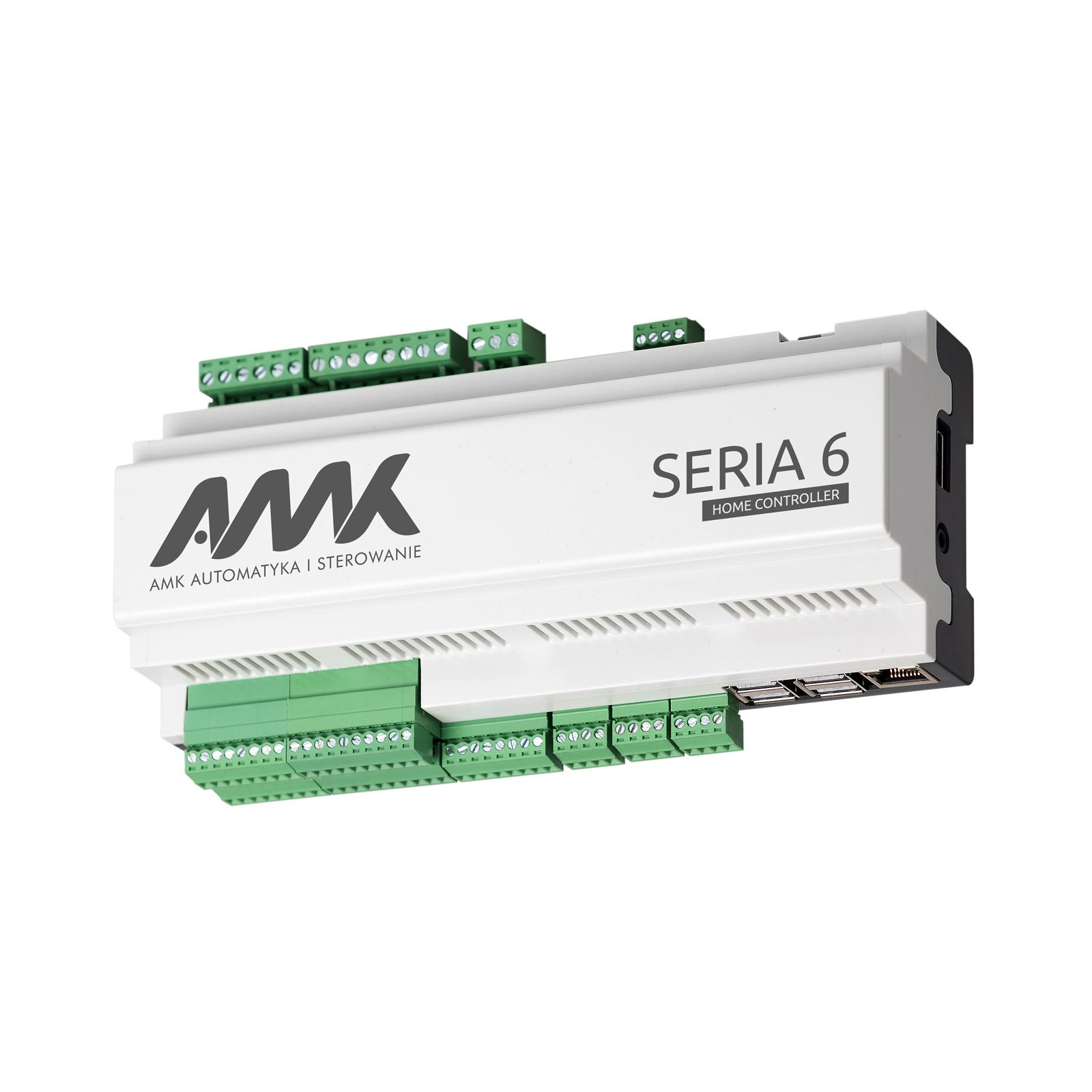 AMK Automatyka i Sterowanie - Sterownik Seria 6 Home Controller